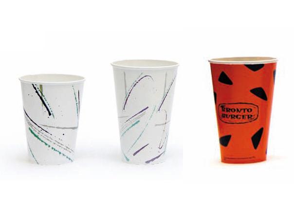 goblets  en carton